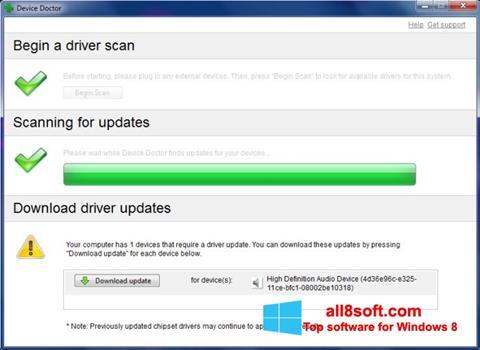 截圖 Device Doctor Windows 8