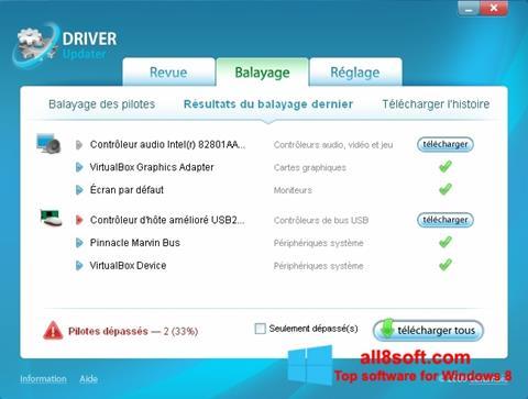截圖 Carambis Driver Updater Windows 8