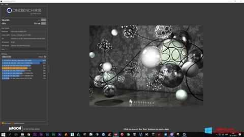 截圖 CINEBENCH Windows 8