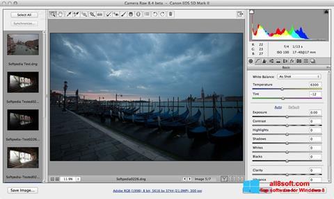 截圖 Adobe Camera Raw Windows 8