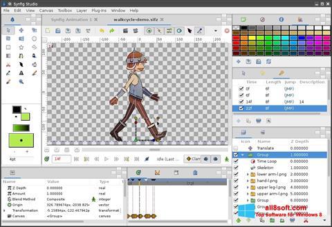 截圖 Synfig Studio Windows 8