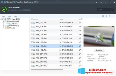 截圖 USB Flash Drive Recovery Windows 8