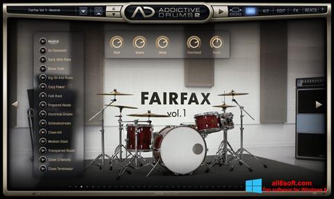 截圖 Addictive Drums Windows 8