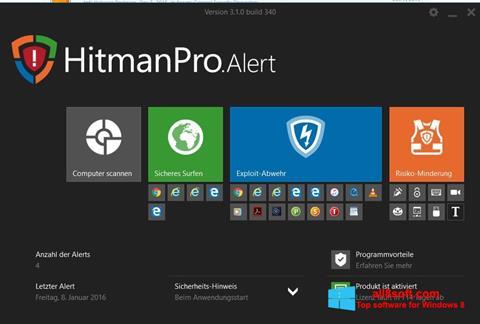 截圖 HitmanPro Windows 8