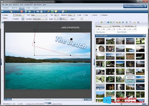 截圖 Ashampoo Photo Commander Windows 8