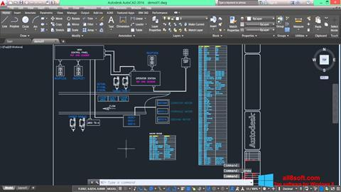 截圖 AutoCAD Electrical Windows 8