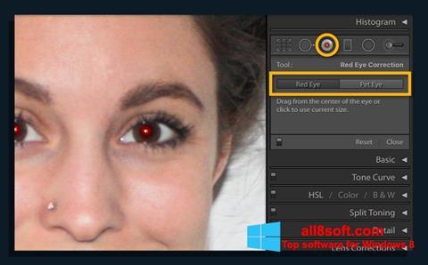 截圖 Red Eye Remover Windows 8