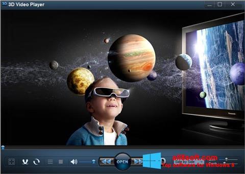 截圖 3D Video Player Windows 8