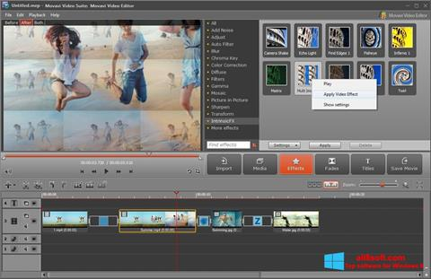 截圖 Movavi Video Suite Windows 8