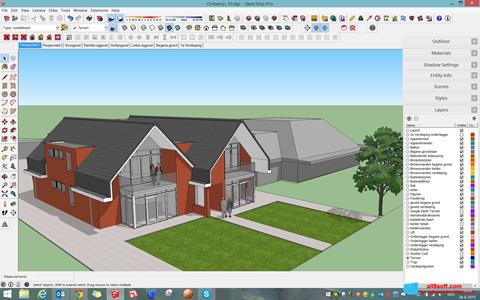 截圖 Google SketchUp Windows 8