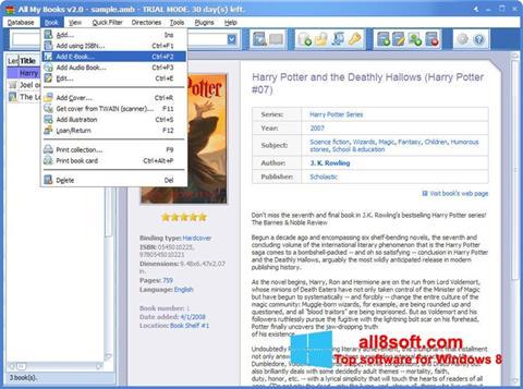 截圖 All My Books Windows 8