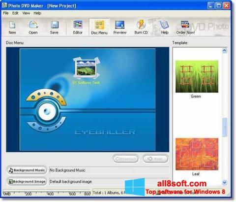 截圖 DVD Maker Windows 8