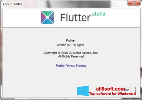 截圖 Flutter Windows 8