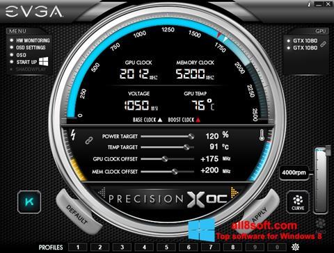 截圖 EVGA Precision X Windows 8