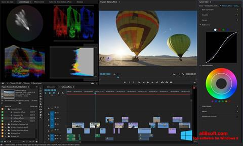 截圖 Adobe Premiere Pro Windows 8