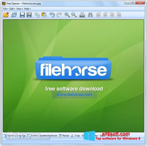 截圖 Free Opener Windows 8