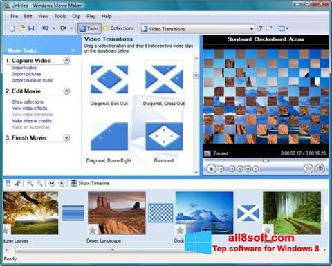 截圖 Windows Movie Maker Windows 8