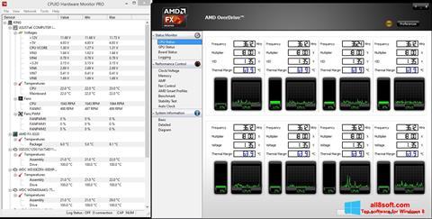 截圖 AMD Overdrive Windows 8