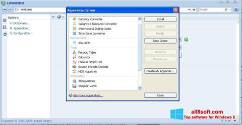 截圖 Lingoes Windows 8