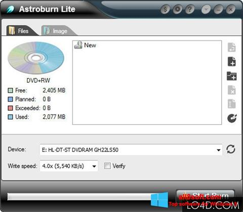 截圖 Astroburn Lite Windows 8