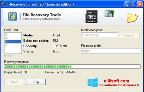 截圖 F-Recovery SD Windows 8