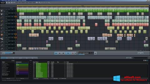 截圖 MAGIX Music Maker Windows 8