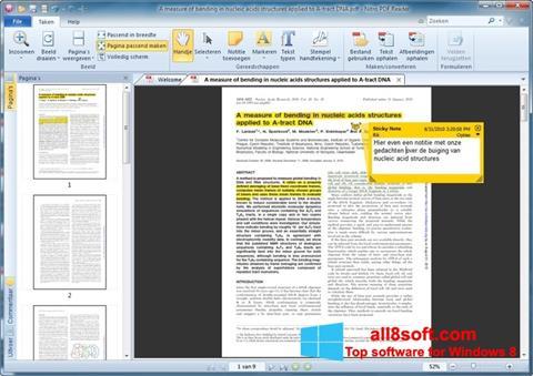 截圖 Nitro PDF Reader Windows 8