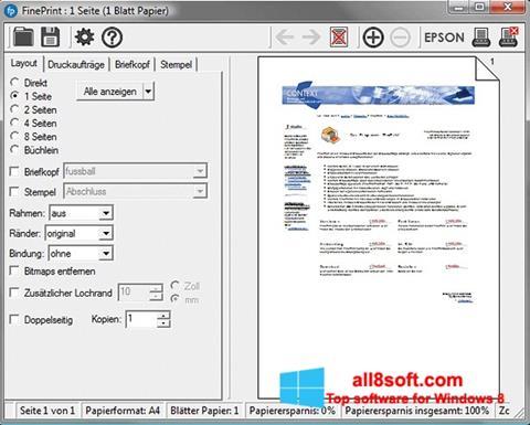 截圖 FinePrint Windows 8