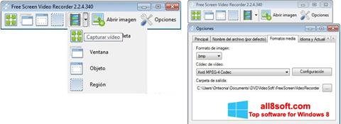 截圖 Free Screen Video Recorder Windows 8