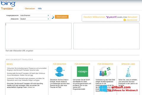截圖 Bing Translator Windows 8