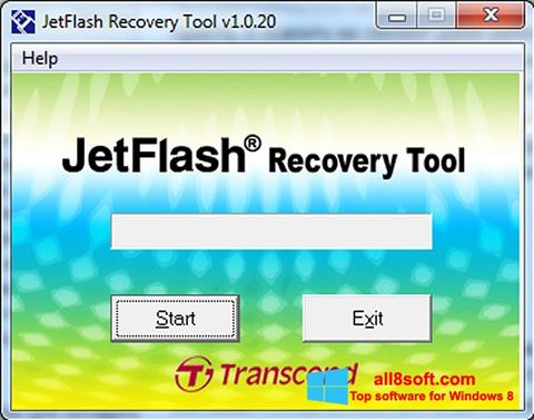 截圖 JetFlash Recovery Tool Windows 8