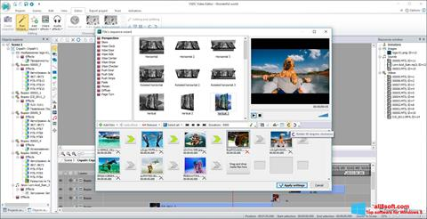 截圖 VSDC Free Video Editor Windows 8