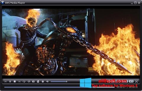 截圖 AVS Media Player Windows 8