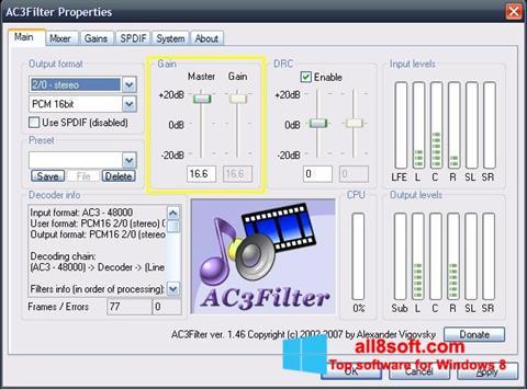 截圖 AC3Filter Windows 8
