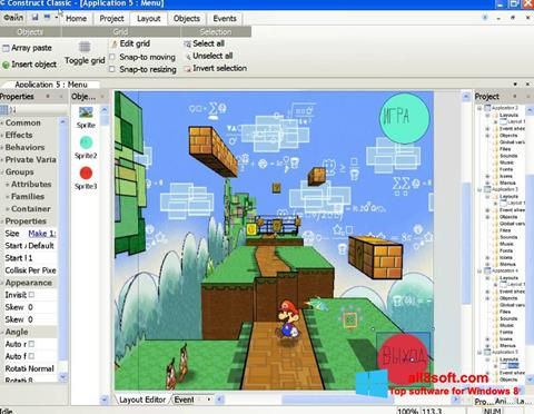 截圖 Construct Classic Windows 8