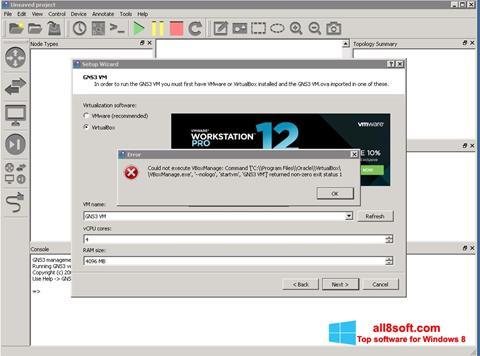 截圖 GNS3 Windows 8