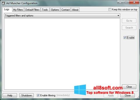 截圖 Ad Muncher Windows 8