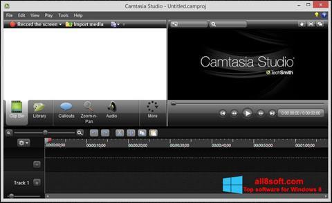 截圖 Camtasia Studio Windows 8