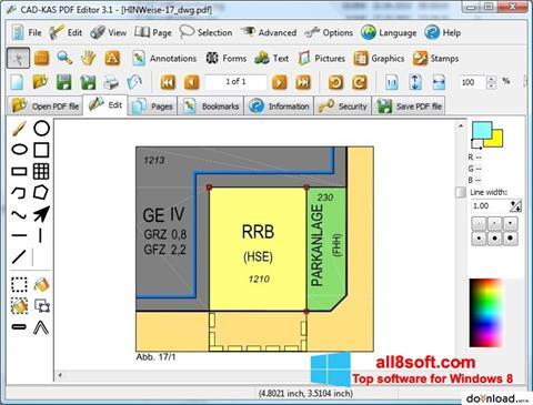 截圖 PDF Reader Windows 8