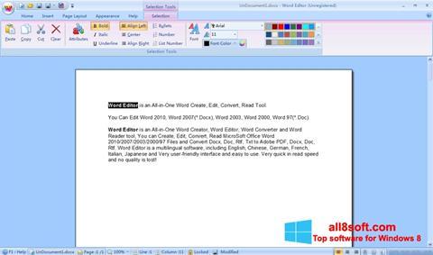 截圖 DocX Reader Windows 8