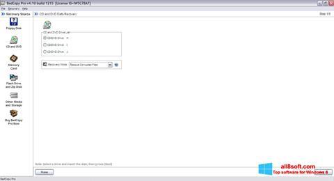 截圖 BadCopy Pro Windows 8
