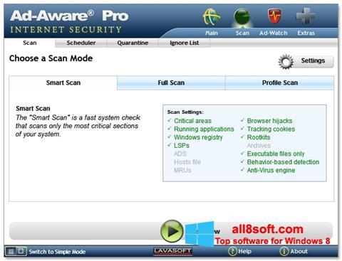 截圖 Ad-Aware Windows 8