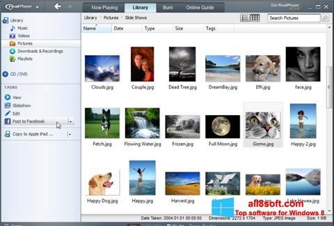 截圖 RealPlayer Windows 8