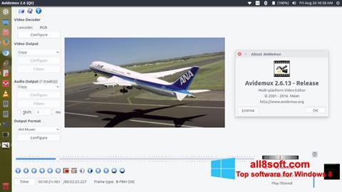 截圖 Avidemux Windows 8