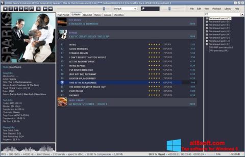 截圖 Foobar2000 Windows 8